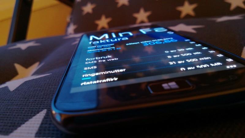 Dagens Faktura-app til Windows Phone vil til høsten avløses av en fornyet app.
